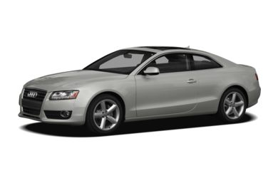 3/4 Front Glamour 2010 Audi A5