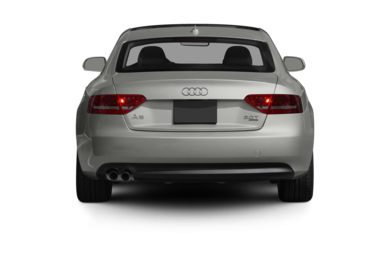 Rear Profile  2010 Audi A5