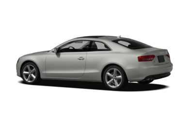 Surround 3/4 Rear - Drivers Side  2010 Audi A5