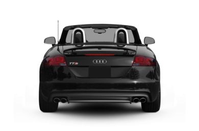 Rear Profile  2010 Audi TTS