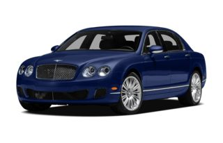 3/4 Front Glamour 2010 Bentley Continental Flying Spur