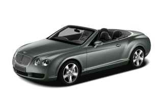 3/4 Front Glamour 2010 Bentley Continental GTC