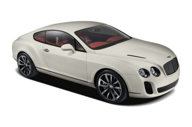 3/4 Front Glamour 2010 Bentley Continental Supersports