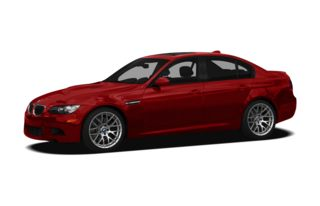3/4 Front Glamour 2010 BMW M3