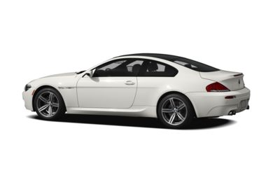 Surround 3/4 Rear - Drivers Side  2010 BMW M6