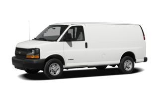 3/4 Front Glamour 2010 Chevrolet Express 2500