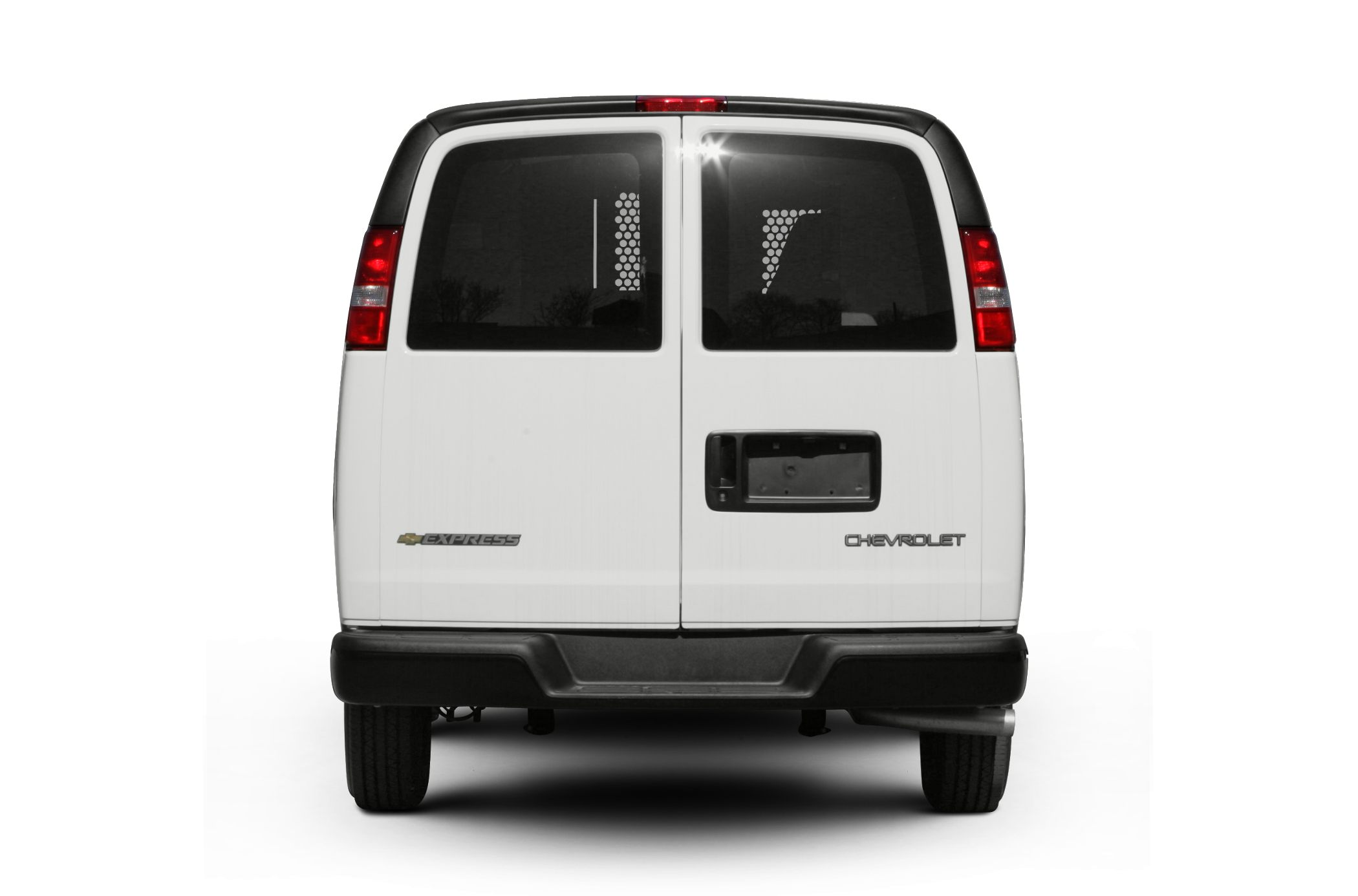 Rear Profile  2010 Chevrolet Express 1500