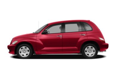 90 Degree Profile 2010 Chrysler PT Cruiser