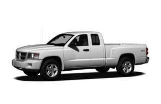 3/4 Front Glamour 2010 Dodge Dakota