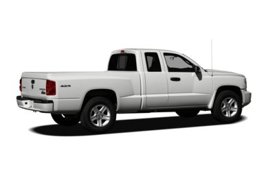 3/4 Rear Glamour  2010 Dodge Dakota