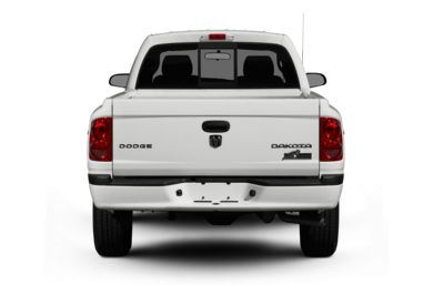 Rear Profile  2010 Dodge Dakota