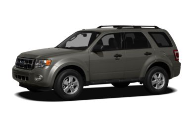 3/4 Front Glamour 2010 Ford Escape