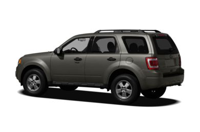 Surround 3/4 Rear - Drivers Side  2010 Ford Escape