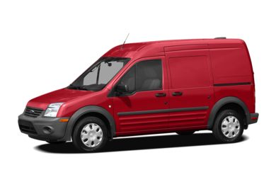 3/4 Front Glamour 2010 Ford Transit Connect