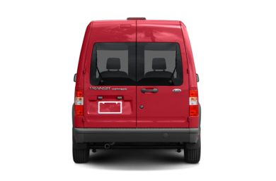 Rear Profile  2010 Ford Transit Connect
