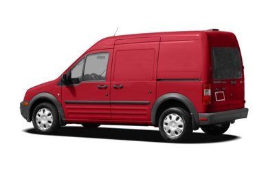Surround 3/4 Rear - Drivers Side  2010 Ford Transit Connect