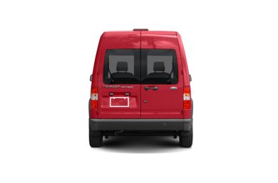 Surround Rear Profile 2010 Ford Transit Connect