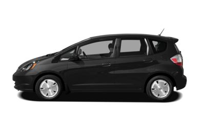90 Degree Profile 2010 Honda Fit