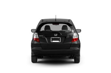 Surround Rear Profile 2010 Honda Fit