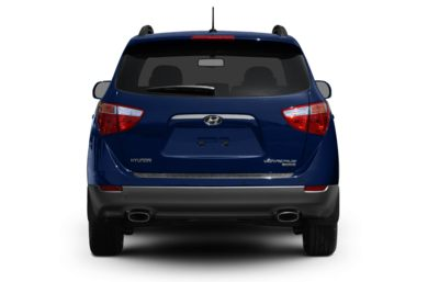 Rear Profile  2010 Hyundai Veracruz