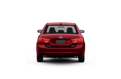 Surround Rear Profile 2010 Kia Optima