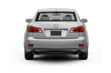 Rear Profile  2010 Lexus IS 350