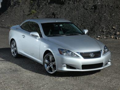 OEM Exterior  2010 Lexus IS 350C