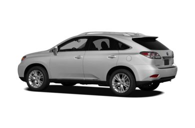 Surround 3/4 Rear - Drivers Side  2010 Lexus RX 450h