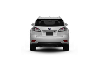 Surround Rear Profile 2010 Lexus RX 450h