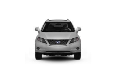 Surround Front Profile  2010 Lexus RX 450h