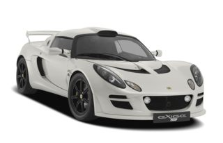3/4 Front Glamour 2010 Lotus Exige