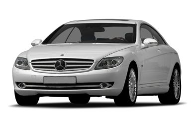 3/4 Front Glamour 2010 Mercedes-Benz CL600