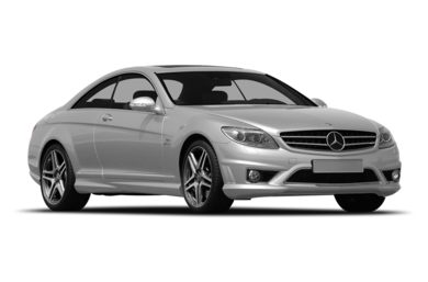 3/4 Front Glamour 2010 Mercedes-Benz CL65 AMG
