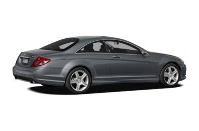 3/4 Rear Glamour  2010 Mercedes-Benz CL550