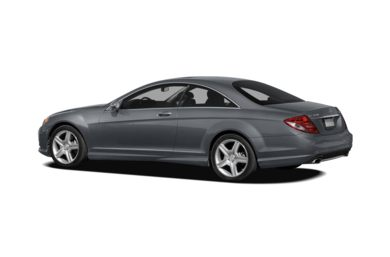 Surround 3/4 Rear - Drivers Side  2010 Mercedes-Benz CL550