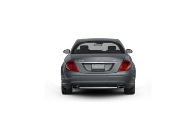 Surround Rear Profile 2010 Mercedes-Benz CL550