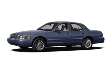 3/4 Front Glamour 2010 Mercury Grand Marquis