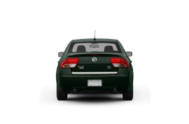 Surround Rear Profile 2010 Mercury Milan