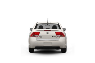 Surround Rear Profile 2010 Mercury Milan Hybrid