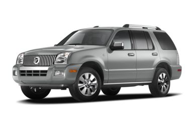 3/4 Front Glamour 2010 Mercury Mountaineer