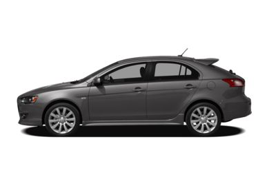 90 Degree Profile 2010 Mitsubishi Lancer Sportback