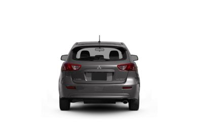Surround Rear Profile 2010 Mitsubishi Lancer Sportback