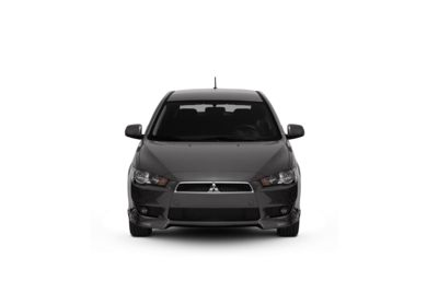 Surround Front Profile  2010 Mitsubishi Lancer Sportback