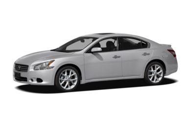 3/4 Front Glamour 2010 Nissan Maxima