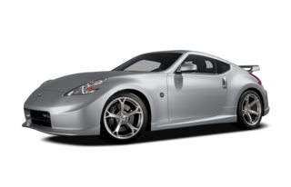 3/4 Front Glamour 2010 Nissan 370Z