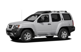 3/4 Front Glamour 2010 Nissan Xterra