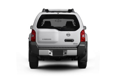 Rear Profile  2010 Nissan Xterra