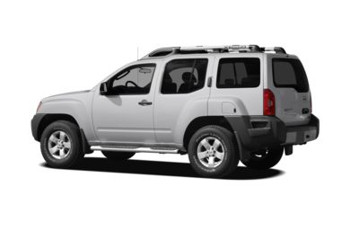 Surround 3/4 Rear - Drivers Side  2010 Nissan Xterra