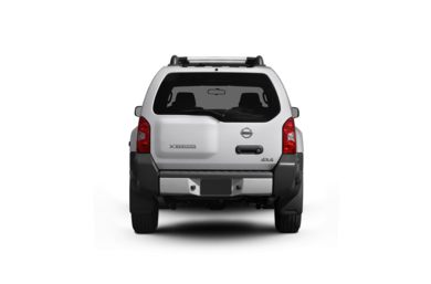 Surround Rear Profile 2010 Nissan Xterra