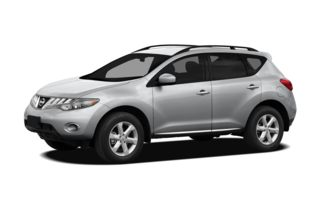 3/4 Front Glamour 2010 Nissan Murano